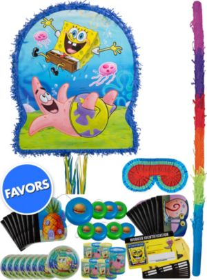 Patrick & SpongeBob Pinata Kit with Favors