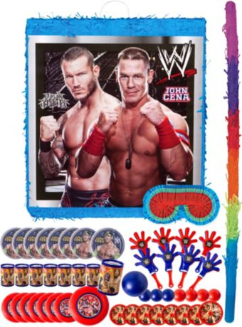 WWE Pinata Kit with Favors