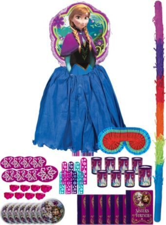 Anna Pinata Kit with Favors Deluxe - Frozen