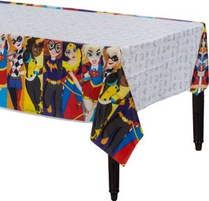 DC Super Hero Girls Table Cover