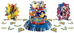 DC Super Hero Girls Table Decorating Kit 23pc
