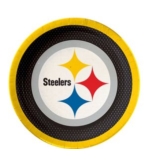 Pittsburgh Steelers Dessert Plates 18ct