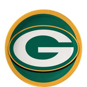 Green Bay Packers Dessert Plates 18ct