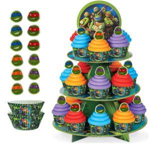 TMNT Cupcake Kit for 24