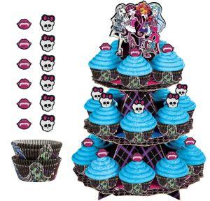 Deluxe Monster High Cupcake Kit for 24