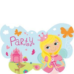 Woodland Fairy Invitations 8ct