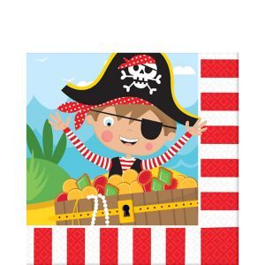 Little Pirate Lunch Napkins 16ct