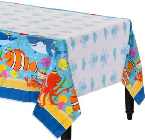 Under the Sea Birthday Table Cover