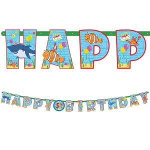 Under the Sea Birthday Banner Kit