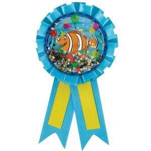 Under the Sea Birthday Award Ribbon