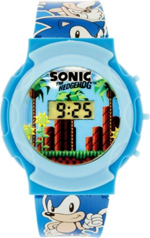 Blue Sonic the Hedgehog Watch