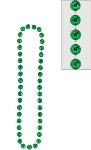 Green Jumbo Bead Necklace