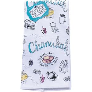Hanukkah Kitchen Towel