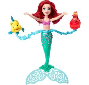 Spin & Swim Little Mermaid Doll