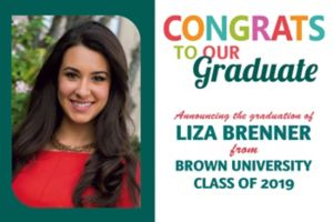 Custom Bright Grad Text Photo Announcement