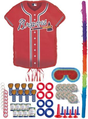 Atlanta Braves Pinata Favor Kit