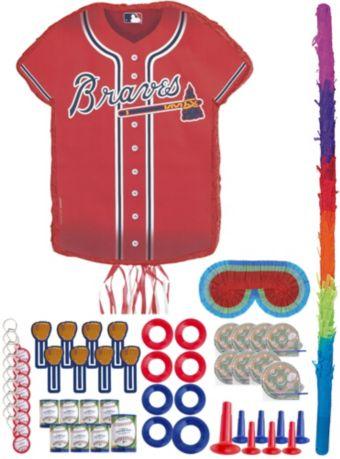 Atlanta Braves Pinata Kit with Favors
