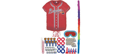 Atlanta Braves Pinata Kit with Favors