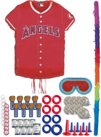 Los Angeles Angels Pinata Kit with Favors