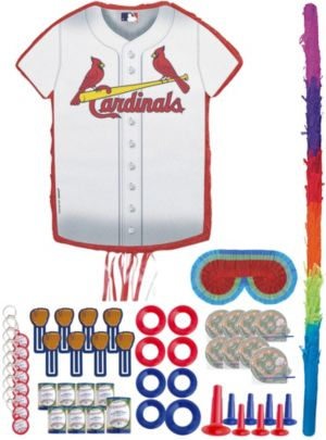 St Louis Cardinals Pinata Favor Kit