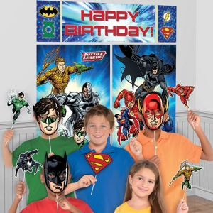 Justice League Photo Booth Kit