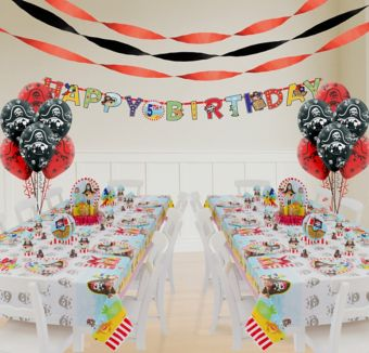 Little Pirate Deluxe Party Kit for 16 Guests