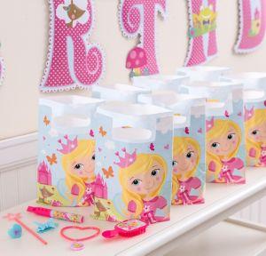 Woodland Princess Basic Favor Kit for 8 Guests