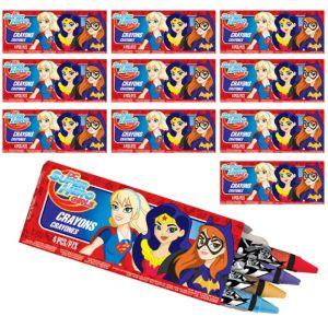 DC Super Hero Girls Crayon Boxes 48ct