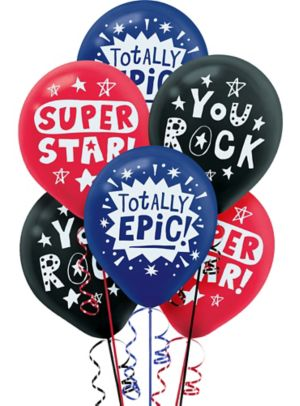 Appreciation Messages Balloons 6ct
