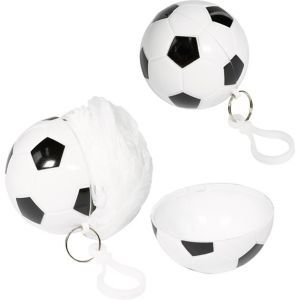 Clip-On Soccer Ball Keychain Poncho
