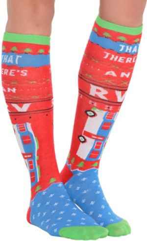 Christmas Vacation Christmas Knee Socks