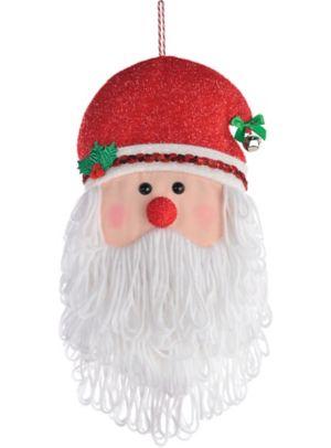 Santa Head Plush