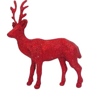Glitter Red Reindeer
