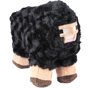Black Sheep Plush - Minecraft