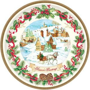 Holiday Magic Dinner Plates 18ct
