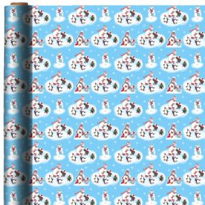 Cuddly Creature Christmas Gift Wrap