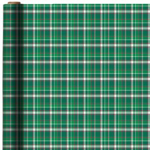 Green, Red & White Plaid Gift Wrap