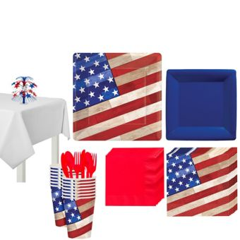 Rustic Americana Deluxe Party Kit