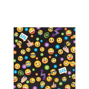 Smiley Beverage Napkins 16ct