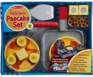 Flip & Serve Pancake Playset 19pc