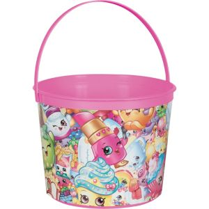 Pink Shopkins Favor Container