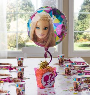 Barbie  Centerpiece Kit - Makes 2