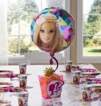 Barbie  Centerpiece Kit - Makes 2