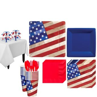 Rustic Americana Ultimate Party Kit