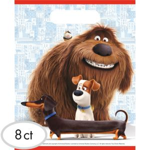 The Secret Life of Pets Favor Bags 8ct