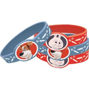 The Secret Life of Pets Wristbands 4ct