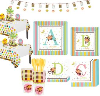 Fisher Price ABC Baby Shower Kit 36 guests