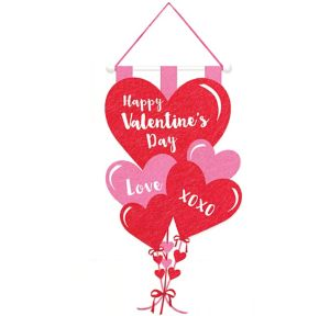 Felt Happy Valentine's Day Sign