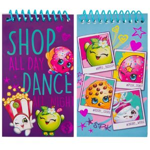 Shopkins Notepads 2ct
