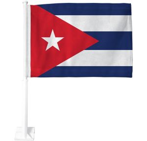 Cuban Flag Car Flag